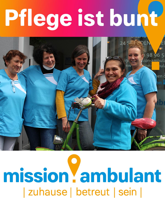 Das Pflegeteam der mission:ambulant